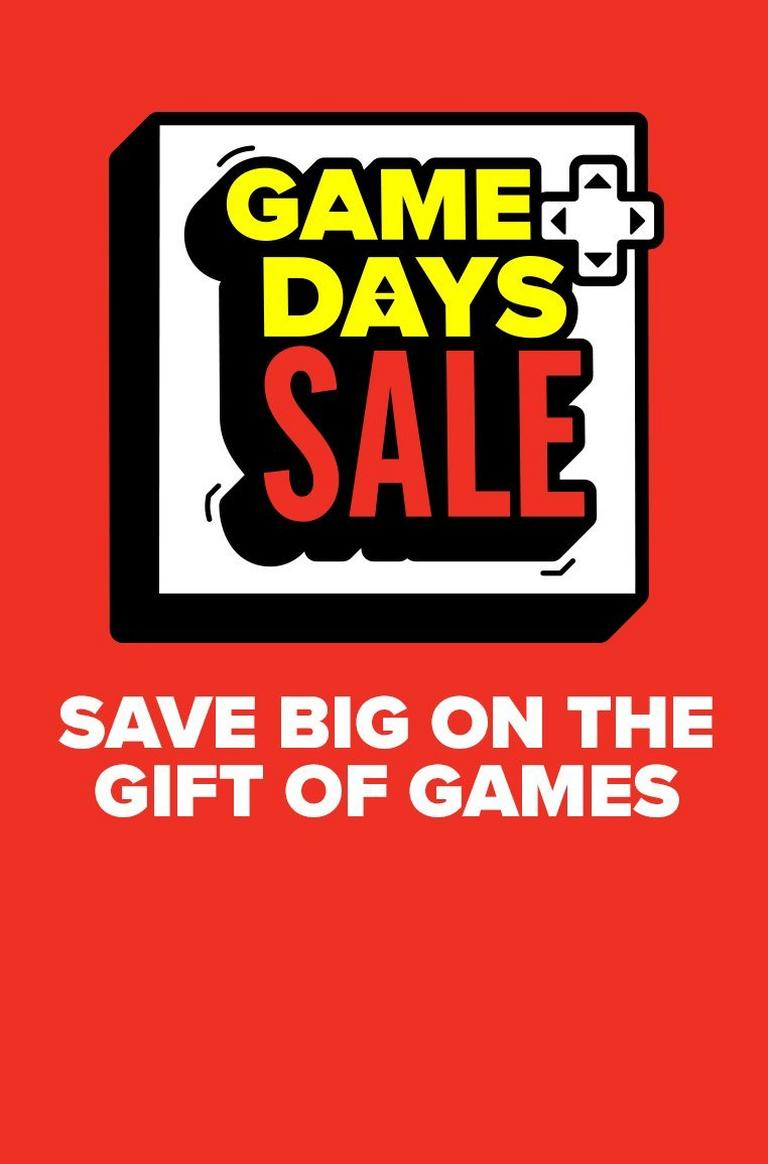 game-days-sale