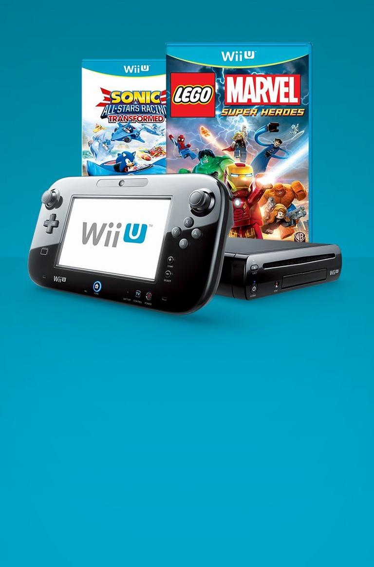 WiiU Blast From the Past Bundles
