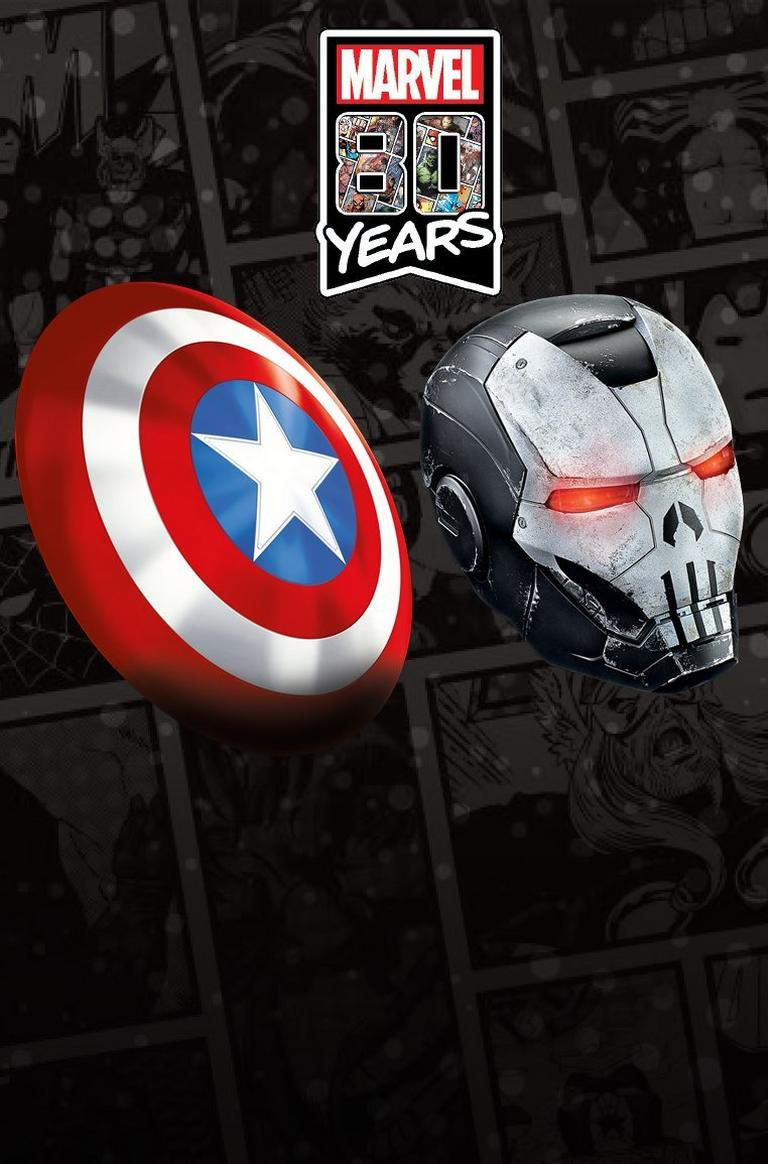 Marvel 80 Years Collectibles