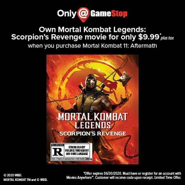 Mortal Kombat 11 Aftermath Expansion Xbox One Gamestop