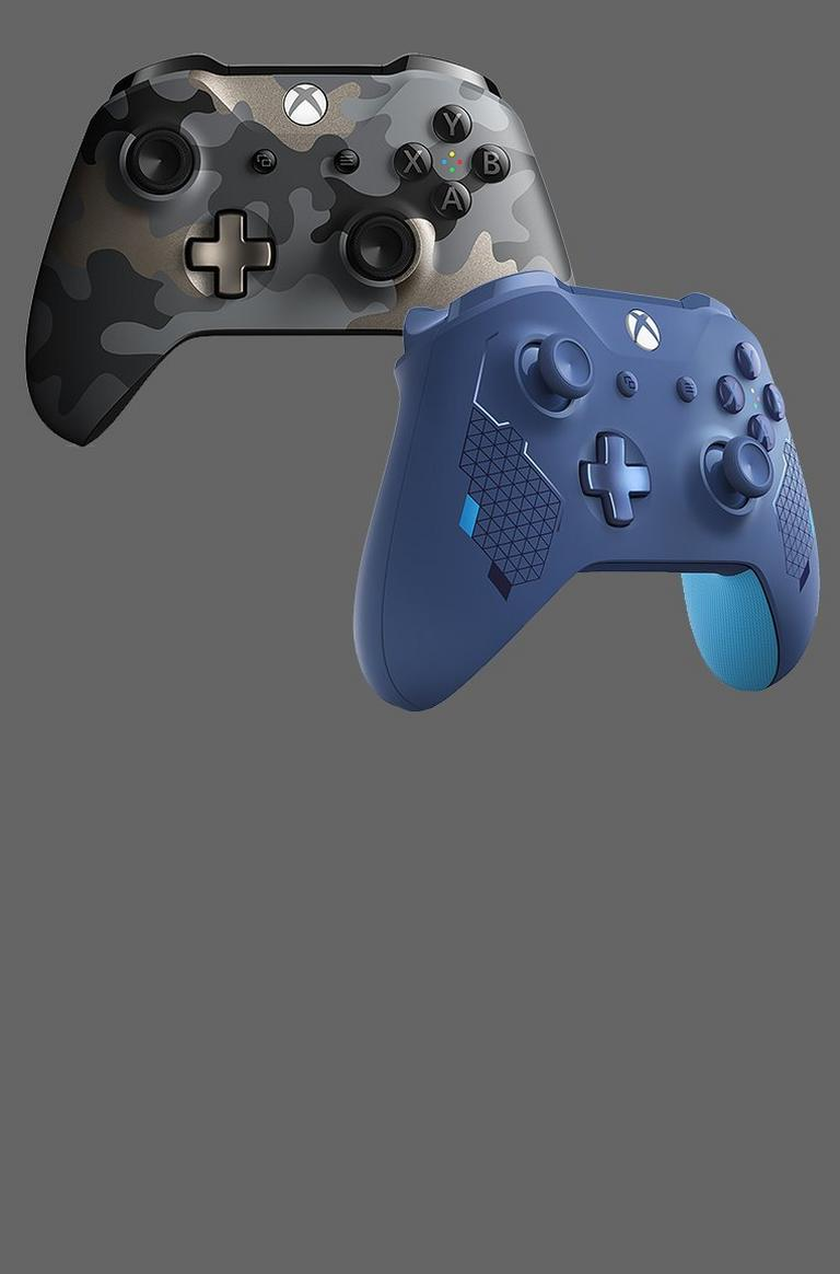 New Xbox Controllers