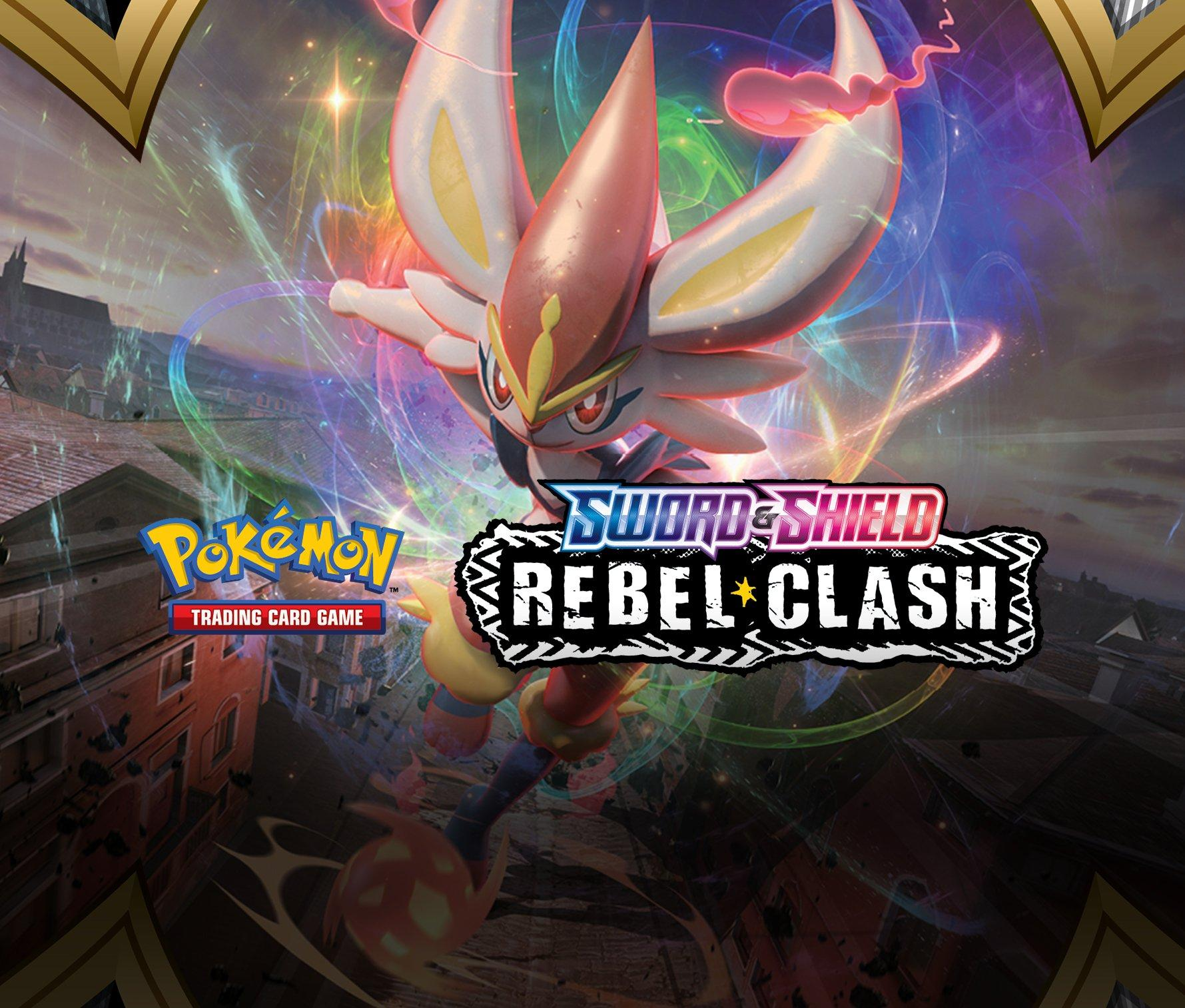 Pokemon Sword & Shield Rebel Clash