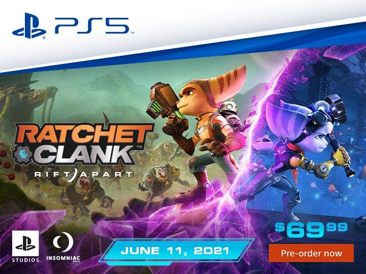 Ratchet and Clank PreOrder