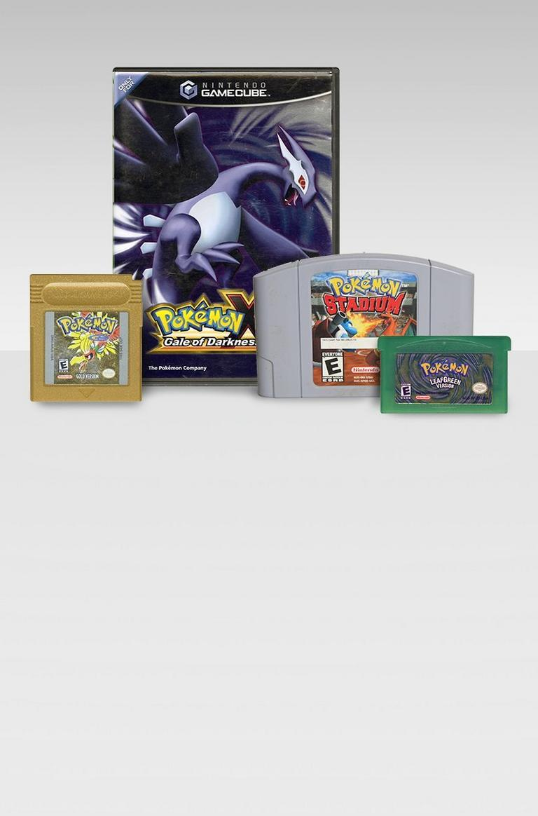 VIntage Pokemon Games