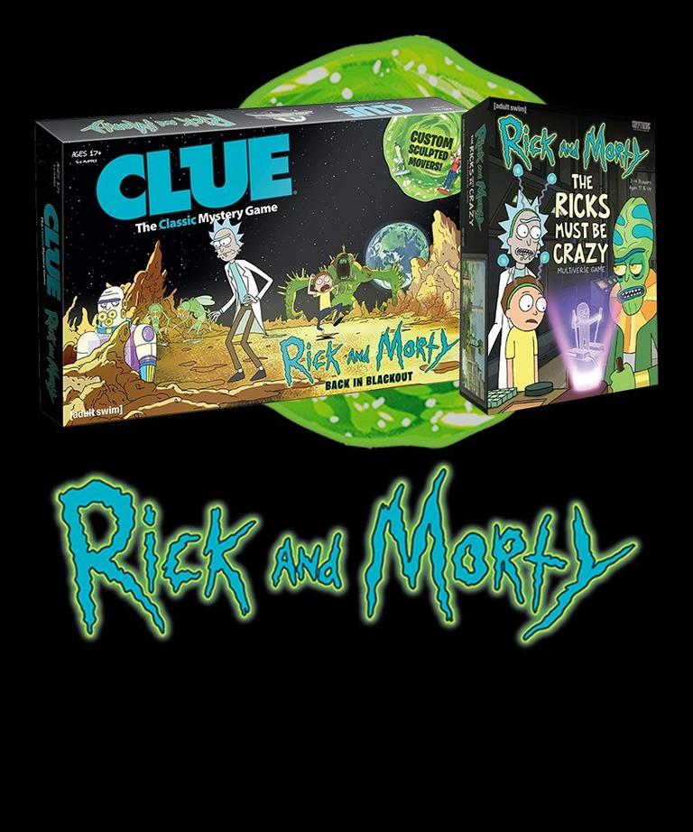 Rick and Morty Board Games