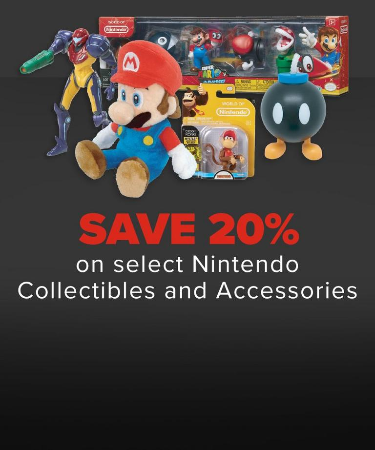 Nintendo Collectibles Sale