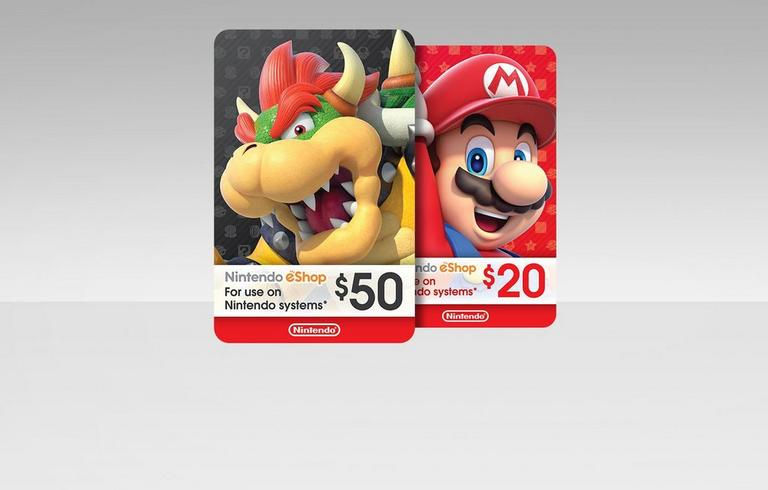 Switch eShop Cards