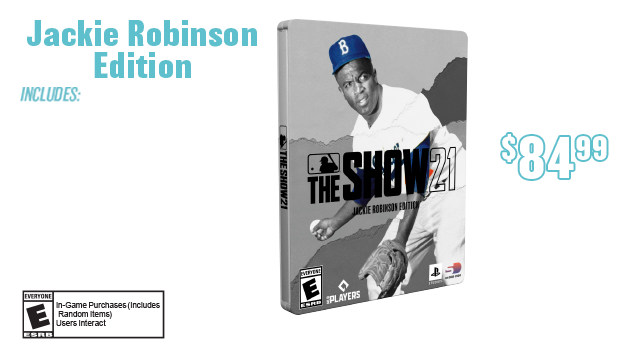MLB The Show 21 Jackie Robinson Edition