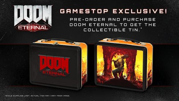 GameStop Exclusive collectible tin!