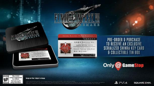 Exclusive Key Card and Collectible Tin!