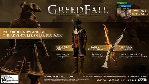 Adventurer's Gear DLC Pack!