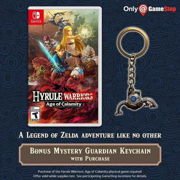 Hyrule Warriors Age Of Calamity Nintendo Switch Gamestop